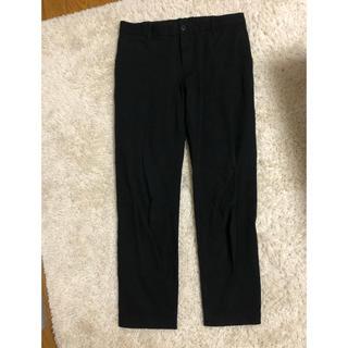 MUJI (無印良品) - 無印良品 黒パンツ