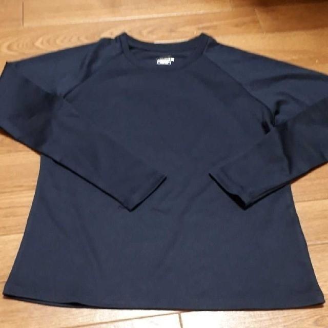 UNDER ARMOUR(アンダーアーマー)のアンダーシャツ  150ネイビー スポーツ/アウトドアの野球(ウェア)の商品写真