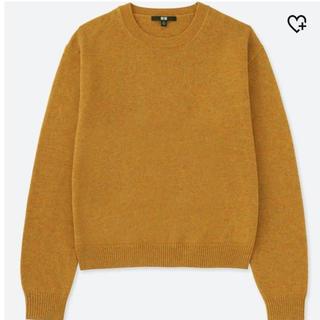 ユニクロ(UNIQLO)のUNIQLO プレミアムラムクルーネックセーター(ニット/セーター)