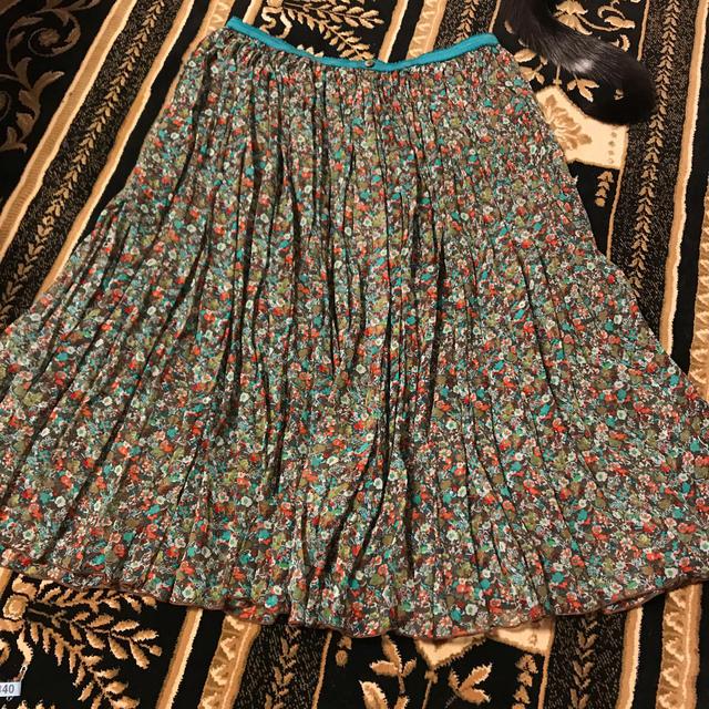 TSUMORI CHISATO(ツモリチサト)のツモリチサト  スカート  絹100 レディースのスカート(ひざ丈スカート)の商品写真