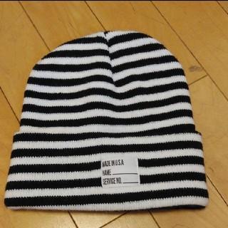 ニコアンド(niko and...)のニコアンド ニット帽(ニット帽/ビーニー)