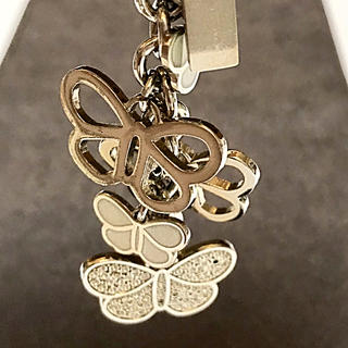 COACH - COACH 蝶々のキーリング★ポーチやバックにつけてもかわいいです。