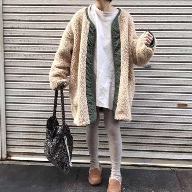Ungrid(アングリッド)のungrid リバーシブルボアミリタリー レディースのジャケット/アウター(ブルゾン)の商品写真