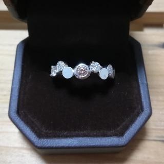 K18/ダイヤモンドリング/バイザヤード(リング(指輪))