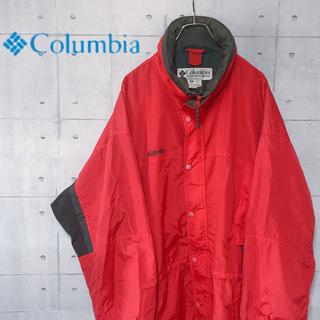 コロンビア(Columbia)の★格安★ コロンビア マウンテンパーカー 90's ビックシルエット 刺繍ロゴ(マウンテンパーカー)