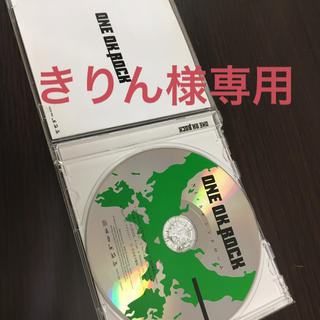 ワンオクロック(ONE OK ROCK)の【きりん様専用】ONE OK ROCK Nicheシンドローム 人生×僕= CD(ポップス/ロック(邦楽))