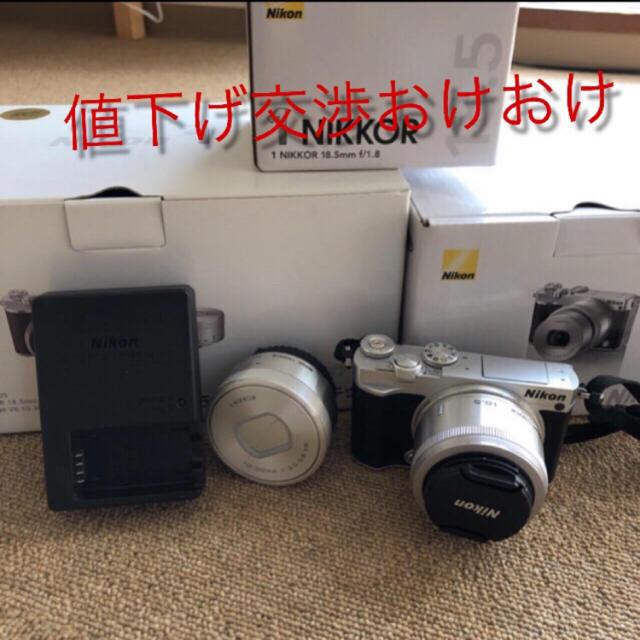 Nikon(ニコン)のNikonj5最終値下げ今日まで スマホ/家電/カメラのカメラ(ミラーレス一眼)の商品写真
