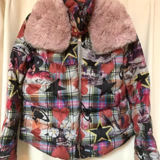 Vivienne Westwood - タータン シーモンスター ボア付きダウンジャケット
