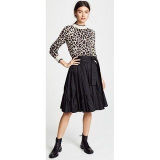 MARC JACOBS - 新品、未使用 MARC JACOBS ベルデット ブラック スカート