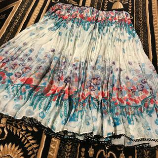 TSUMORI CHISATO - ツモリチサト  スカート  シルク100