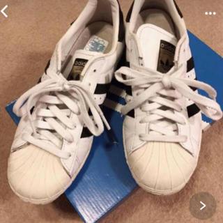 アディダス(adidas)のadidas superstars 80s  23.5(スニーカー)