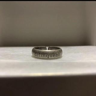 Round Message Ring (6mm) 指輪(C090)