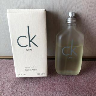 Calvin Klein - カルバン クライン シーケーワン オードトワレ  100mL