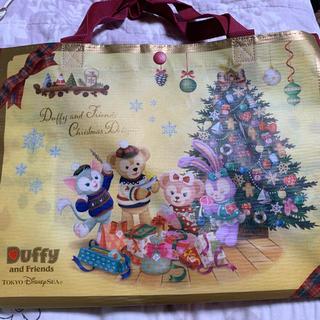 ダッフィー(ダッフィー)のダッフィーのクリスマス☆ショッピングバッグ新品(ショップ袋)
