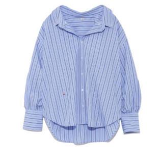 ミラオーウェン(Mila Owen)のミラオーウェン♡ボタンダウンカフスデザインシャツ(シャツ/ブラウス(長袖/七分))