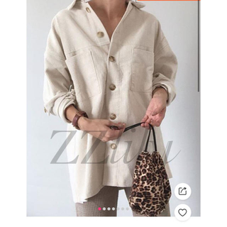 SeaRoomlynn - ベルト付き シングルボタンシャツ