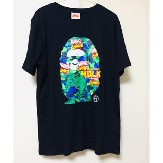 A BATHING APE - a bathing ape 19ss Tシャツ MarveLコラボ