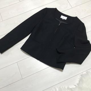 M-premier - エムプルミエ 美品 ノーカラー ジャケット