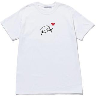 三代目 J Soul Brothers - RILY Heart Logo Tee SS 白