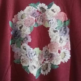 サマンサモスモス(SM2)の花かんむりのTシャツ(Tシャツ(半袖/袖なし))