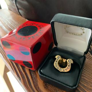 テンダーロイン(TENDERLOIN)のテンダーロイン 18K ホースシューリング ダイヤ 10号 チックサイズ(リング(指輪))