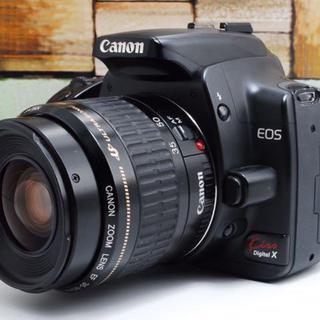 Canon - 超人気機種!!Canon kiss X レンズセット