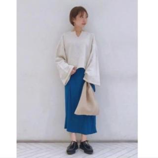 カスタネ(Kastane)の新品カスタネスエードスカート(ロングスカート)
