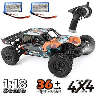 1/18 4WD 2.4Ghz HBX RTR リモコンカー ラジコンカー