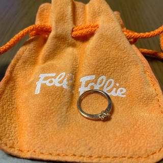 フォリフォリ(Folli Follie)のフォリフォリ k10ピンキーリング(リング(指輪))