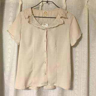 フィント(F i.n.t)の刺繍襟ブラウス(シャツ/ブラウス(半袖/袖なし))
