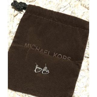 マイケルコース(Michael Kors)のMICHAEL KORS ハートピアス(ピアス)