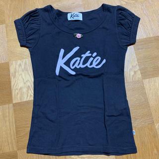 Katie - Katie パフTee ブラック