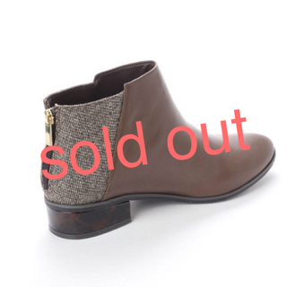 ジェリービーンズ(JELLY BEANS)の新品 定価7689円 異素材MIX ブーツ 22、23、24、25センチ(ブーツ)
