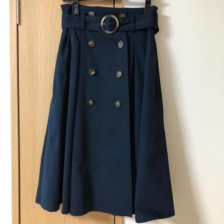 ダズリン(dazzlin)のdazzlin トレンチ風スカート(ひざ丈スカート)