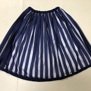JaneMarple - ストライプチュール スカート