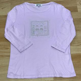 ★美品★ PICONE ピッコーネ ロンT パープル 38(Tシャツ(長袖/七分))