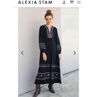 アリシアスタン(ALEXIA STAM)のalexiastam ♡Maxi Dress ♡OK様専用♡(ロングワンピース/マキシワンピース)