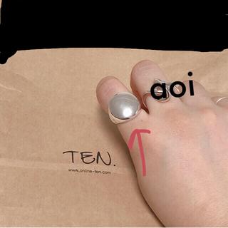 TEN. シルバーリング(リング(指輪))