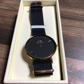 ダニエルウェリントン(Daniel Wellington)のDaniel Wellington 腕時計 黒 紺 (腕時計(アナログ))