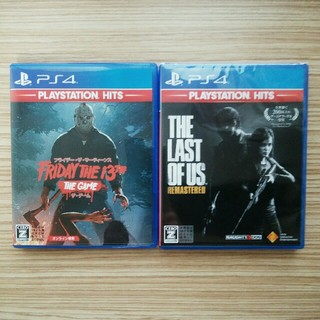 PlayStation4 - 2本セット Friday the 13th+The Last of Us