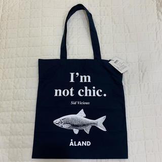【新品未使用タグ付き】ALAND FISH ECO トートバッグ ネイビー