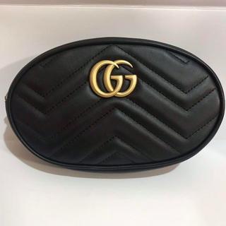 Gucci - GUCCI キルティングレザーベルトバッグ