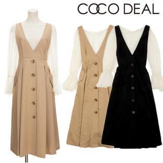 COCO DEAL - ココディールのトレンチライクジャンパースカート