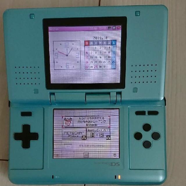 ニンテンドーDS(ニンテンドーDS)の☆初代 ds本体 水色とシルバーセットです☆2つ。 エンタメ/ホビーのゲームソフト/ゲーム機本体(携帯用ゲーム機本体)の商品写真