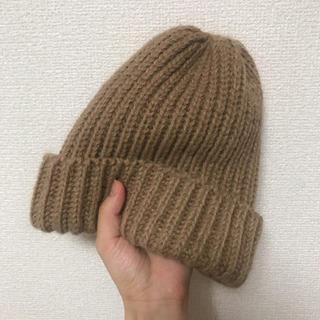 ジャーナルスタンダード(JOURNAL STANDARD)の美品です 送料込み ハイランド2000のニット帽(ニット帽/ビーニー)