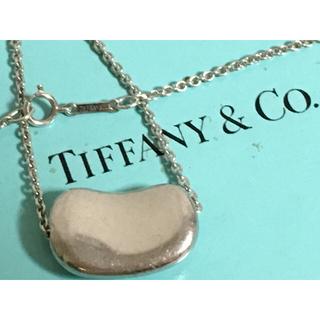 Tiffany & Co. - Tiffany&Co.  エレサペレッティ ビーン 大 シルバーネックレス