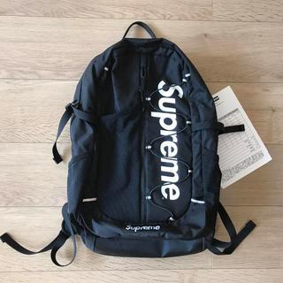 Supreme - supreme 17ss backpack black