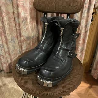 ディースクエアード(DSQUARED2)のDSQUARED2 ディースクエアード デザインブーツ サイズ39 1/2(ブーツ)