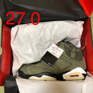 NIKE - SNKRS購入 NIKE TRAVIS SCOTT AIR JORDAN 6