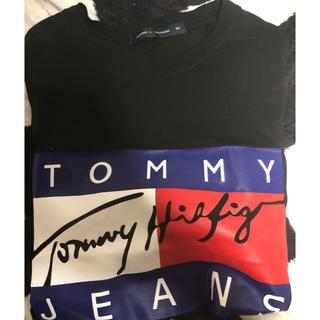 TOMMY - tommy tシャツ Mサイズ ブラック 黒 メンズ 美品